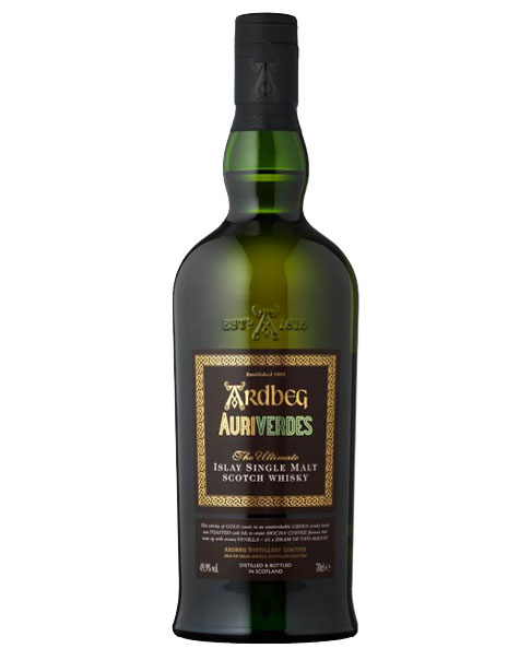 Zur Fußball-WM 2014 erschienene Limited Edition: Ardbeg Auriverdes Islay Single Malt Scotch Whisky
