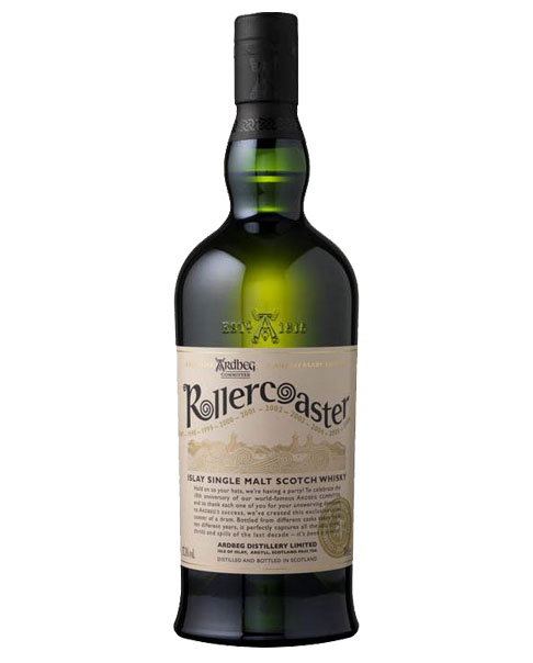 Limited Edition zum 10-jährigen Bestehen des Ardbeg Committees: Ardbeg Rollercoaster Islay Single Malt Scotch Whisky