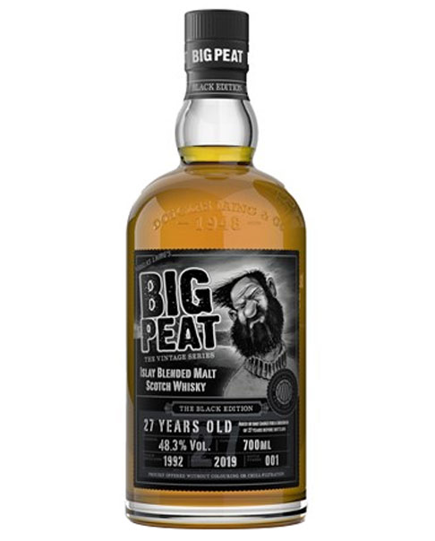 Schließt Douglas Laing's Vintage Serie ab: Big Peat 27 Gold Edition Blended Malt Scotch Whisky