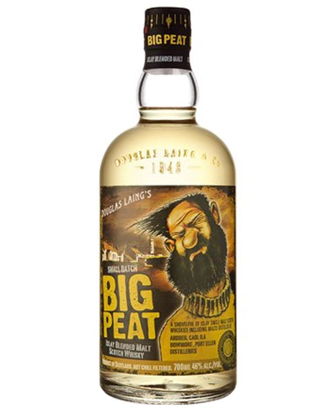 Rauchiger Small Batch Whisky von Douglas Laing's: Big Peat Blended Malt Whisky