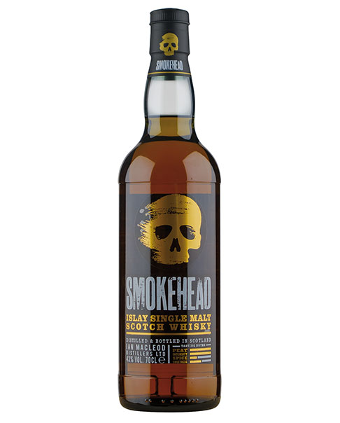 Unter Islay-Fans beliebter Mystery Malt von Ian MacLeod: Smokehead Peated Islay Single Malt Scotch Whisky