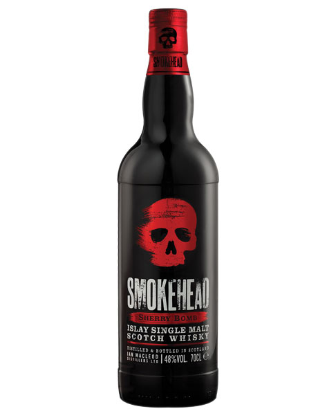 Limited Edition aus dem Oloroso-Sherry-Fass: Smokehead Sherry Bomb Islay Single Malt Scotch Whisky