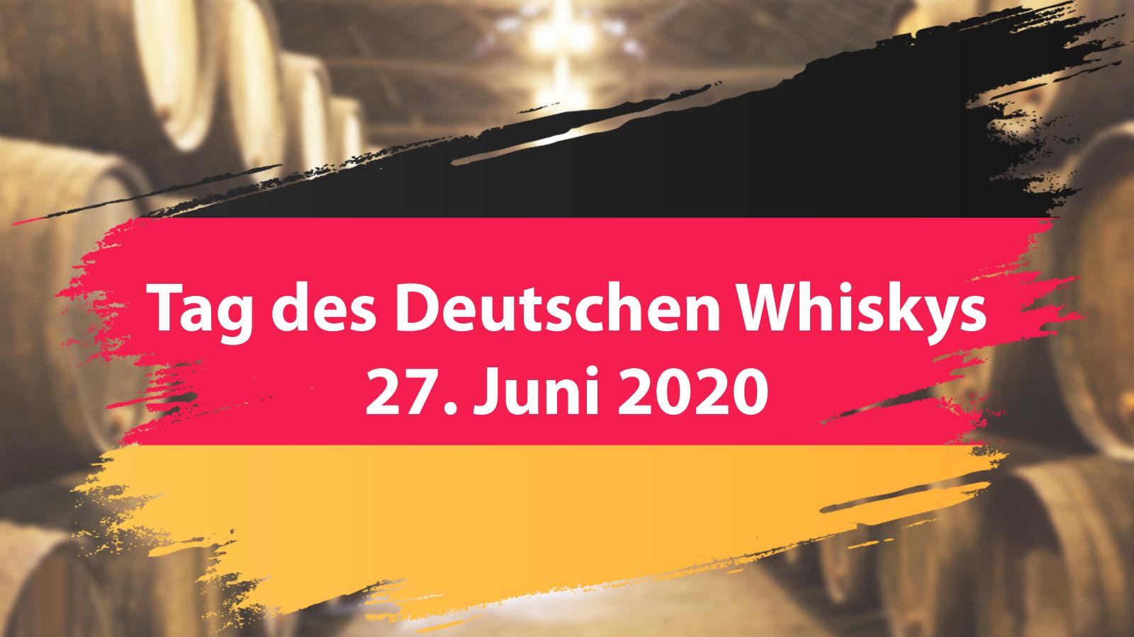 Tag des Deutschen Whiskys 2020: Deutsche Brennereien öffnen am 27. Juni