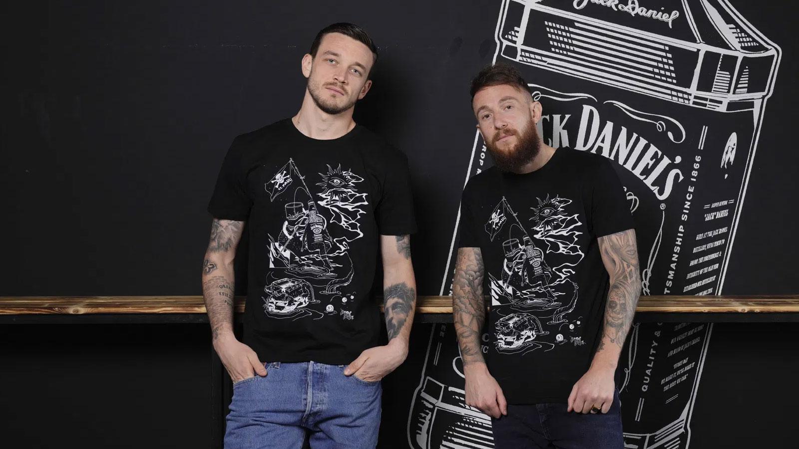 Jack Daniel's und der FC Sankt Pauli greifen der Kunstszene unter die Arme