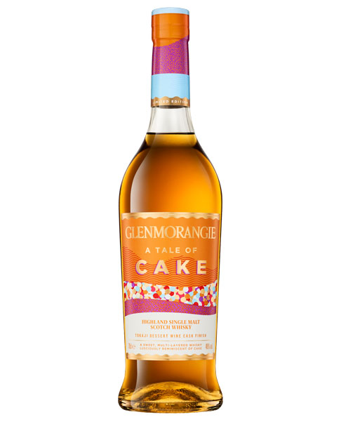 Limited Edition mit Finish im Tokaji-Süßweinfass: Glenmorangie Cake Highland Single Malt Scotch Whisky