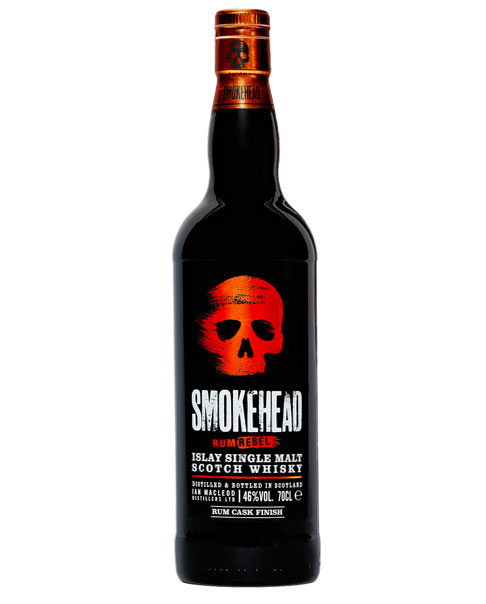 Rebellische Limited Edition: Smokehead Rum Rebel Islay Single Malt Scotch Whisky
