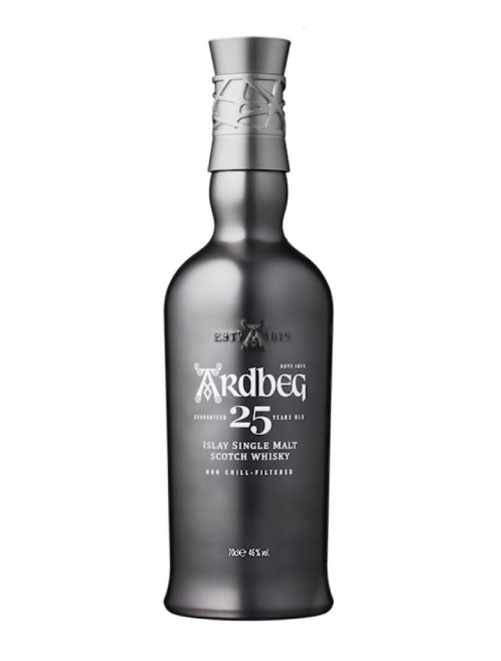 Beliebter Islay Single Malt Scotch Whisky: Ardbeg 25 Years Old