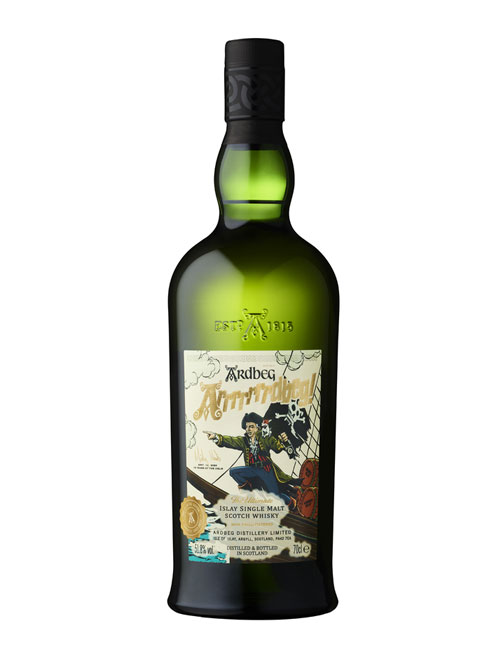 Ardbeg Arrrrrrrdbeg Committee Release Islay Single Malt Scotch Whisky: Sonderabfüllung für Mickey Heads