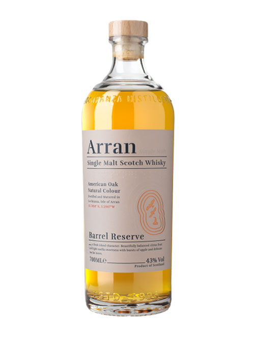 Single Malt Whisky aus dem Bourbon-Fass: Arran Barrel Reserve Single Malt Scotch Whisky