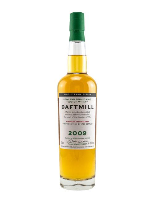 Auf 1785 Flaschen limitiert: Daftmill 2009 Summer Batch Release Lowland Single Malt Scotch Whisky
