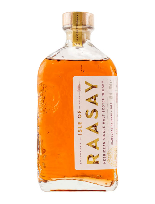 Debut der Raasay Distillery: Isle of Raasay Inaugural Release 2020 Hebridian Single Malt Scotch Whisky