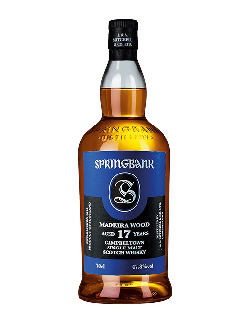 In drei Fassarten gereift: Springbank Aged 17 Years Madeira Wood Campbeltown Single Malt Scotch Whisky