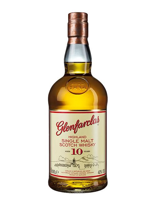 Günstiger Einsteiger-Whisky der Core Range: Glenfarclas Aged 10 Years Highland Single Malt Scotch Whisky