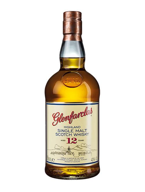 Beliebter Whisky mit fruchtigem Sherry-Aroma: Glenfarclas Aged 12 Years Highland Single Malt Scotch Whisky