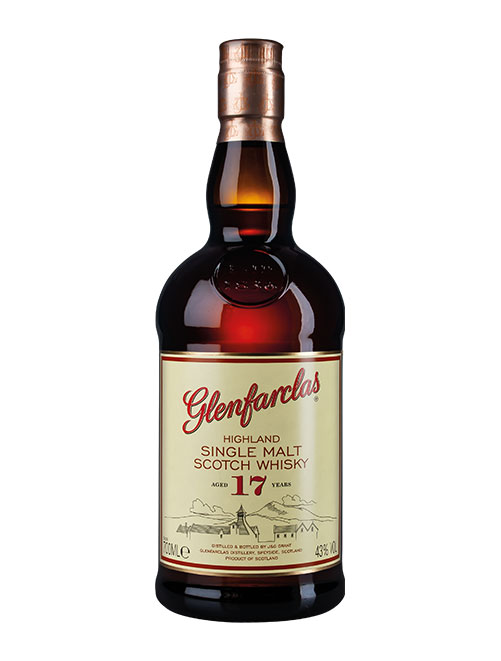 Gelungene Komposition aus Sherry und Torfrauch: Glenfarclas Aged 17 Years Highland Single Malt Scotch Whisky