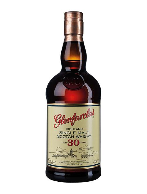 Sherry-Brett der schottischen Familien-Brennerei: Glenfarclas Aged 30 Years Highland Single Malt Scotch Whisky