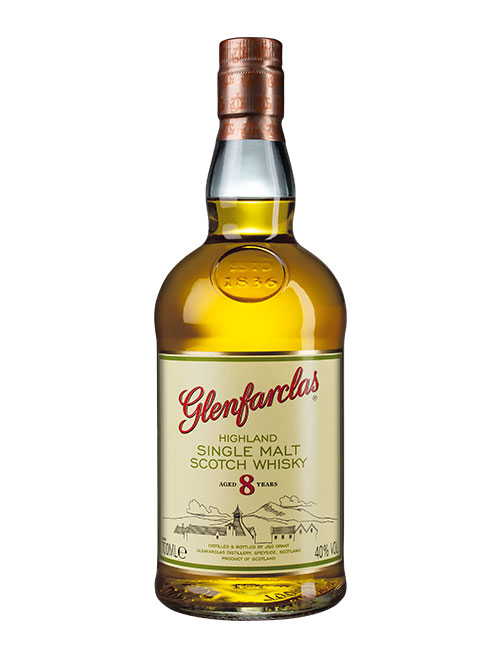 Jüngste Abfüllung aus der Core Range der schottischen Brennerei: Glenfarclas Aged 8 Years Highland Single Malt Scotch Whisky