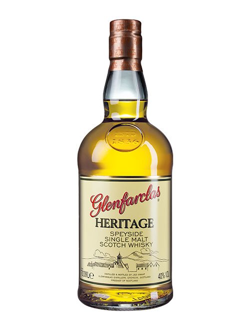 Günstiger Einsteiger-Whisky: Glenfarclas Heritage Speyside Single Malt Scotch Whisky