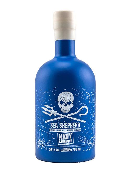 In Fassstärke für den Schutz der Weltmeere: Sea Shepherd Navy Strength Batch 001 Islay Single Malt Scotch Whisky