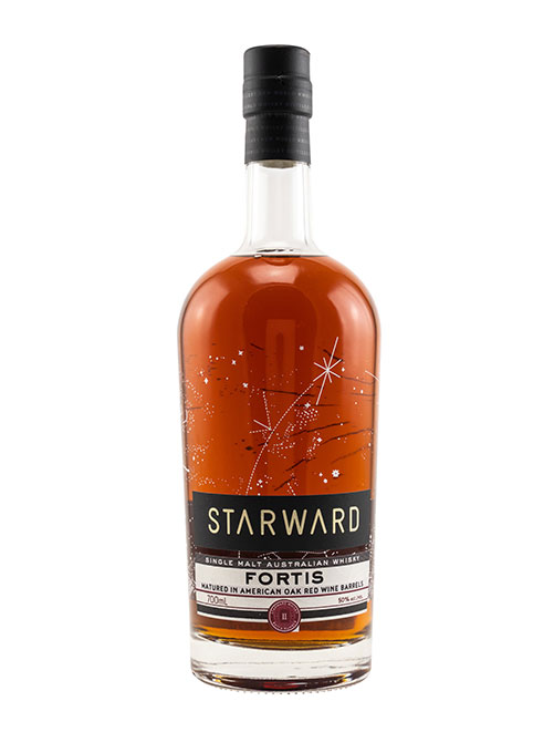 Australischer Single Malt Whisky aus dem Rotwein-Fass: Starward Fortis Australian Single Malt Whisky